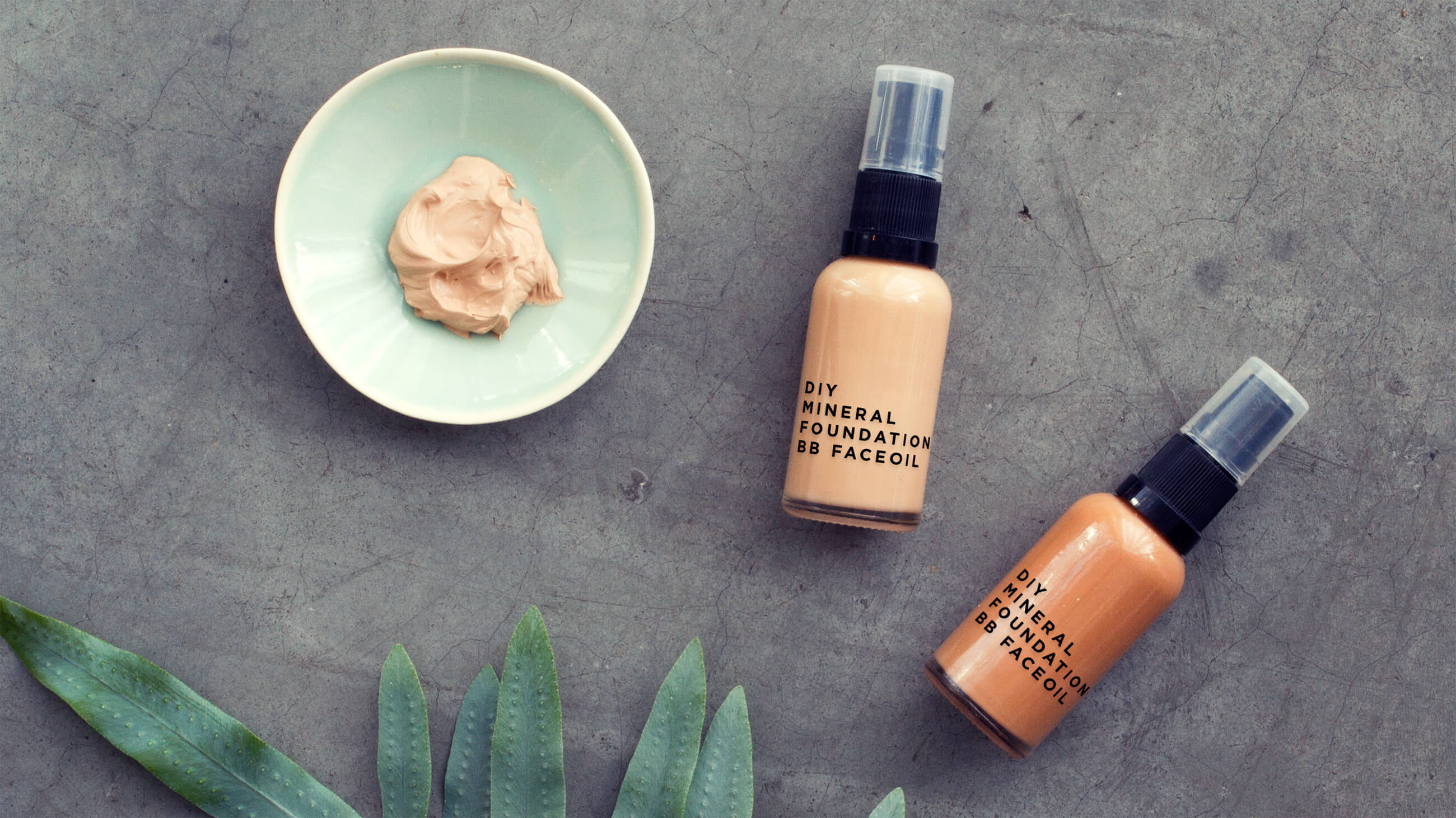 DIY mineral foundation - organicmakers.se