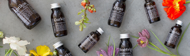 ekologiska vegetabiliska oljor för hudvård