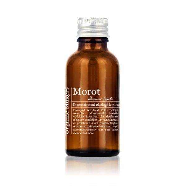 Morotsolja ekologisk - koncentrerat morotsextrakt - organicmakers.se