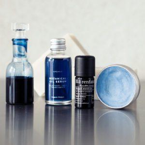 Blå renfana, blue tansy ekologisk eterisk olja för hudvård och aromaterapi - organicmakers.se
