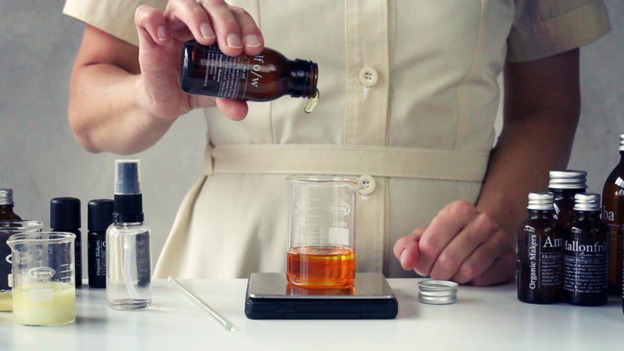 Oljebaserade DIY hudvårdsprodukter