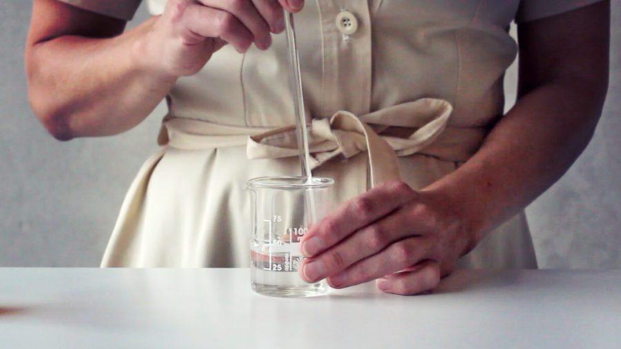 Vattenbaserade diy hudvårdsprodukter