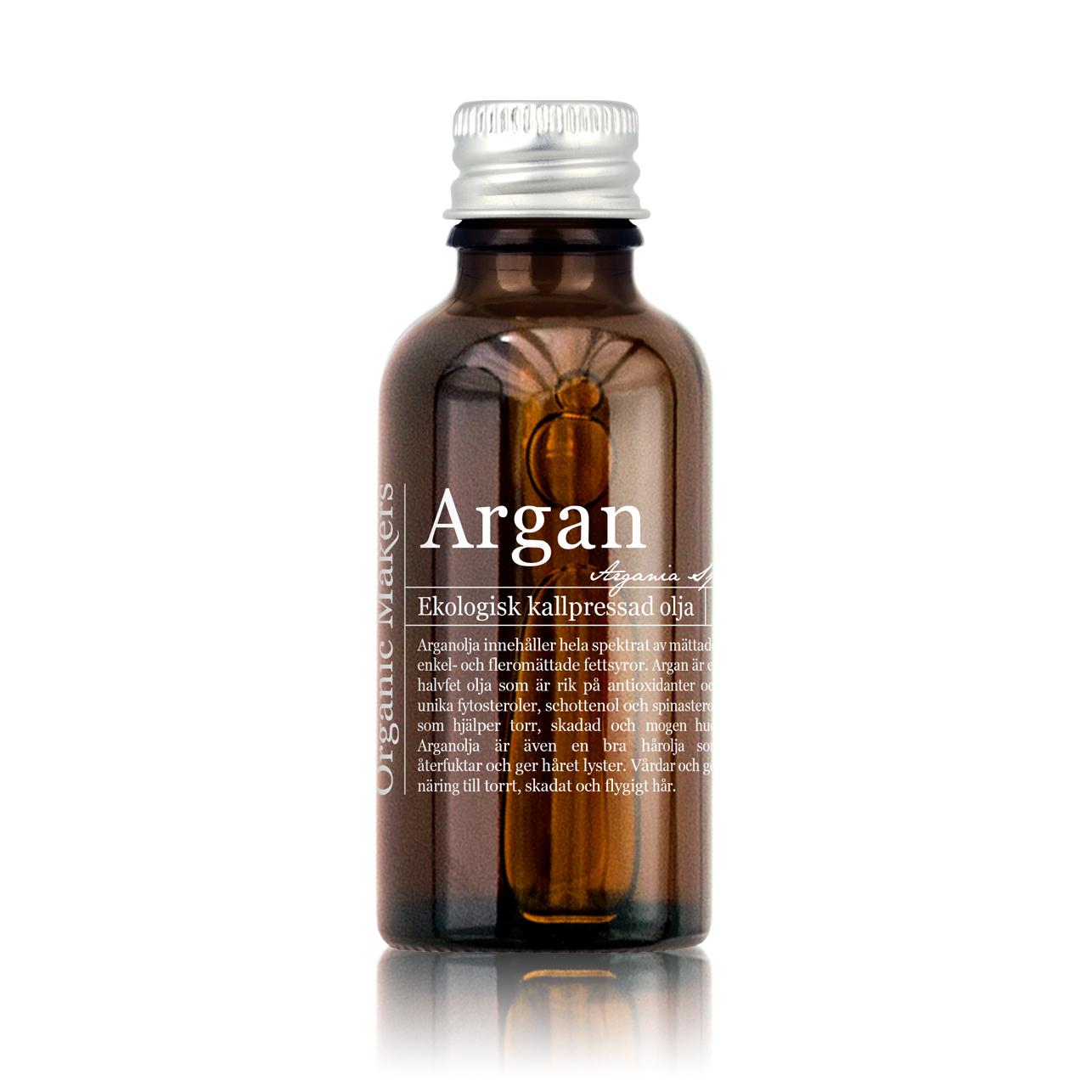 Arganolja hud användning