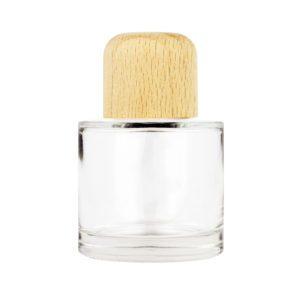 Parfymflaska med träkork