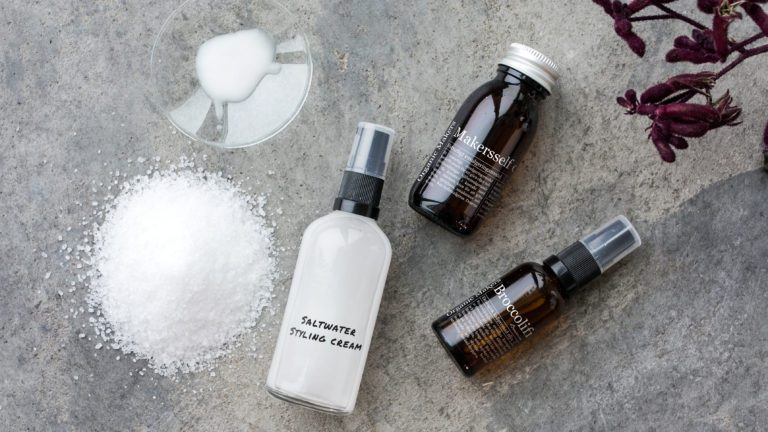 Saltwater styling creme DIY - cold emulsification - organicmakers.se