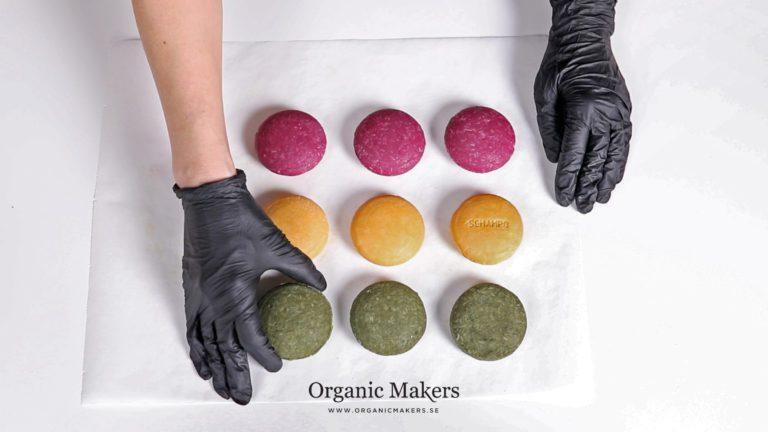 Så gör du dina egna schampokakor - organicmakers.se