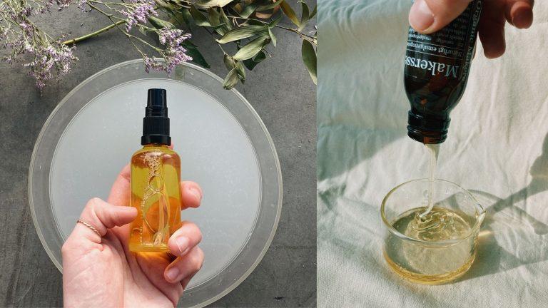 Rengöringsolja oil-to-milk oil clenasing method - gör den själv