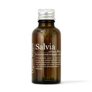 Salviaextrakt ekologiskt för deodorant, hudvård & doft - organicmakers.se