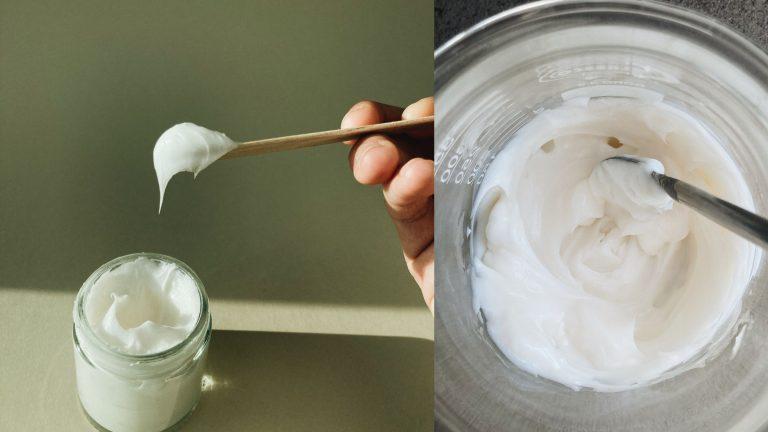 DIY lätt cremegel med nicainamid & backuchiol