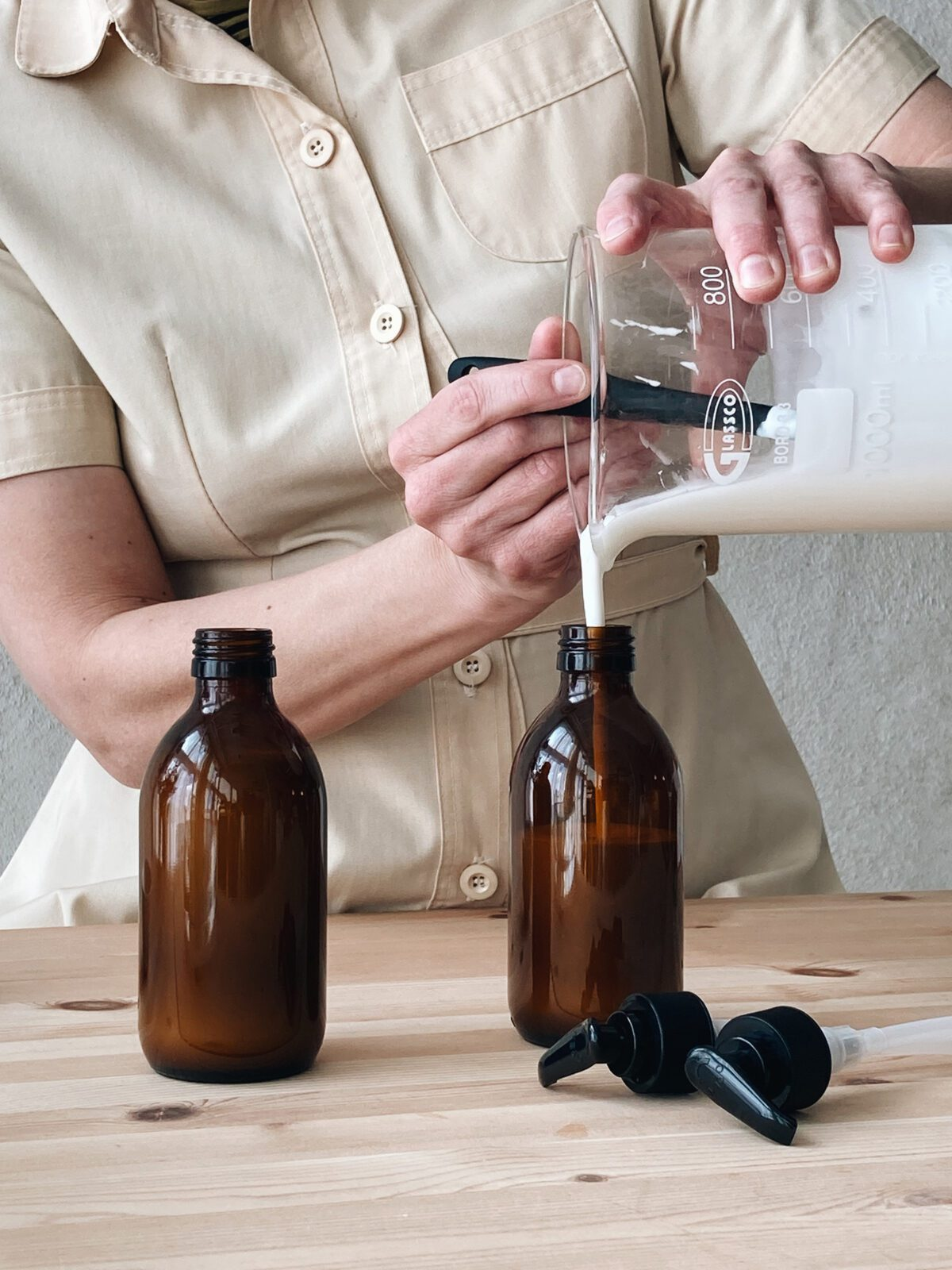 Recept på hemgjord Body Lotion - organicmakers.se