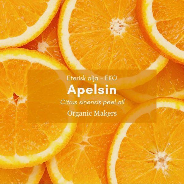 Apelsin eterisk olja, ekologisk, för hudvårdstillverkare