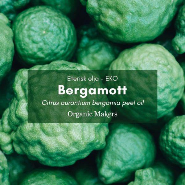 Bergamott bergaptenfri eterisk olja för hudvårdstillverkare