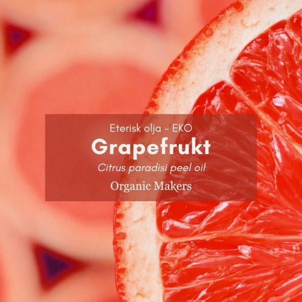 Grapefrukt eterisk olja, ekologisk, för hudvårdstillverkare