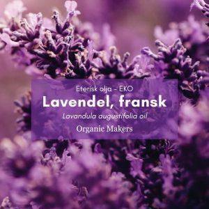 Lavendel, fransk eterisk olja för hudvårdstillverkare