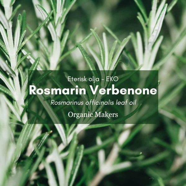 Rosmarin verbenone eterisk olja, ekologisk, för hudvårdstillverkare