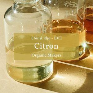 Ekologisk eterisk olja citron i storpack