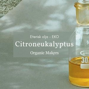 Ekologisk eterisk olja citroneukalyptus i storpack