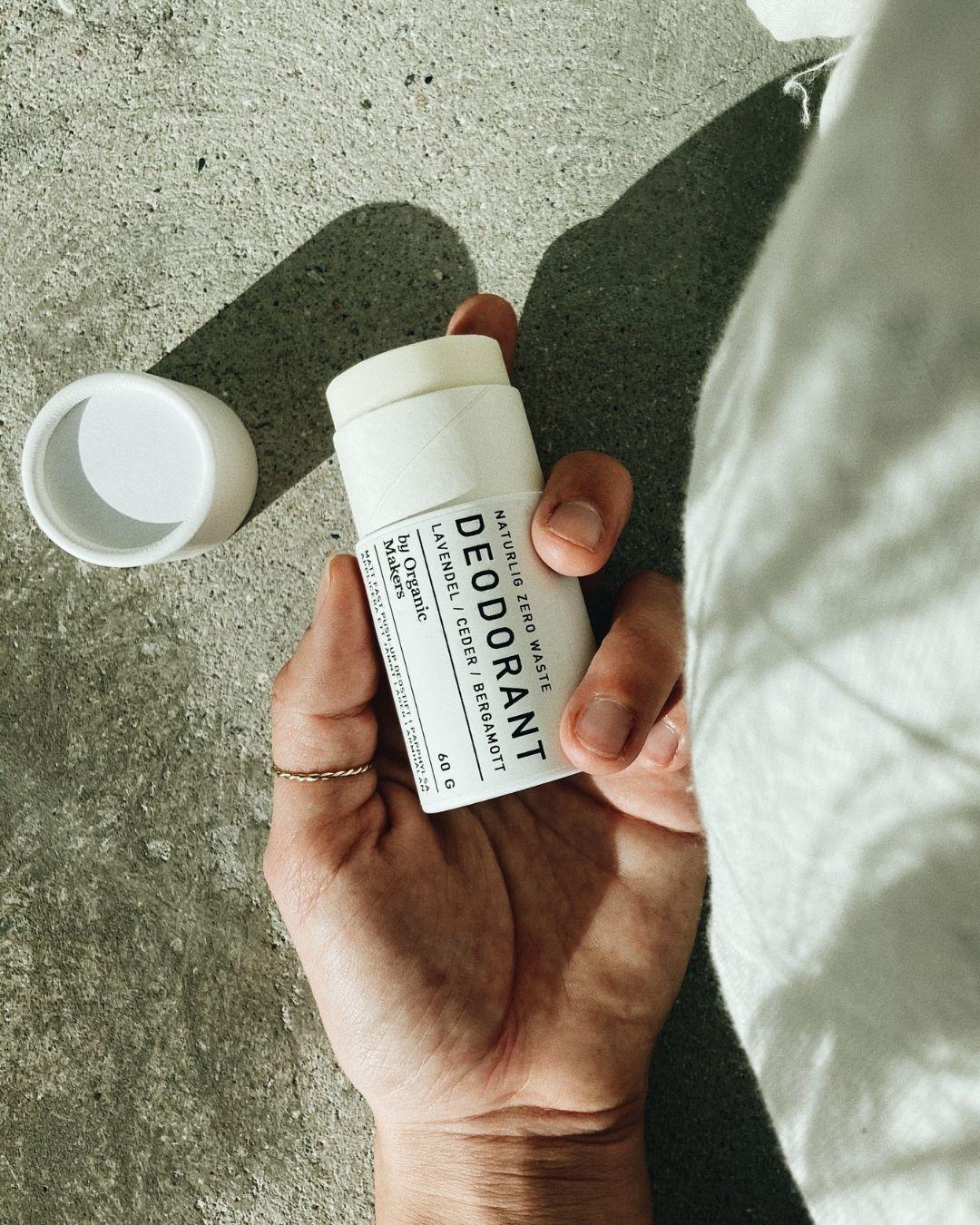 Deodorant i papphylsa zero waste