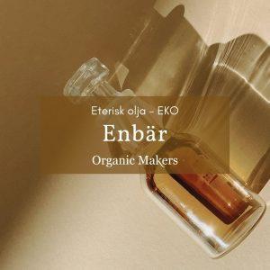 Ekologisk eterisk olja enbär i storpack