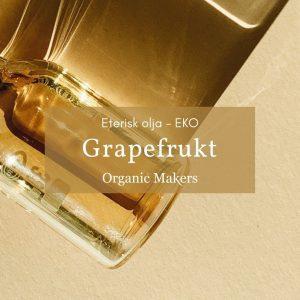 Ekologisk eterisk olja Grapefrukt i storpack