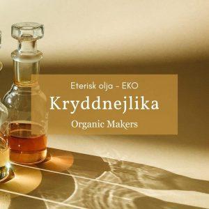 Ekologisk eterisk olja kryddnejlika i storpack