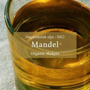 Kallpressad ekologisk mandelolja i storpack/bulk