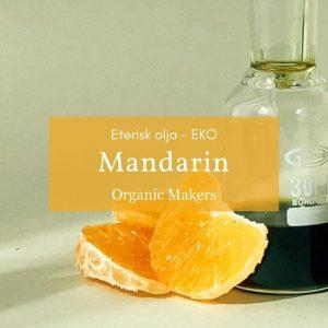 Ekologisk eterisk olja mandarin i storpack
