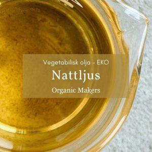 Kallpressad ekologisk nattljusolja i storpack/bulk