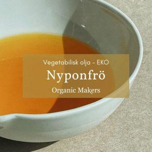 Kallpressad ekologisk nyponfröolja i storpack/bulk