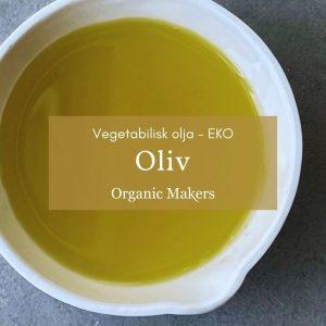 Kallpressad ekologisk olivolja i storpack