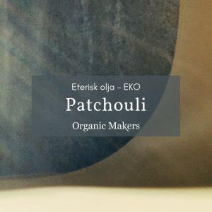 Ekologisk eterisk olja patchouli i storpack