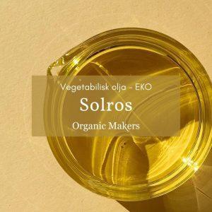Kallpressad ekologisk solrosolja i storpack
