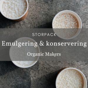 Emulgering & konservering - storpack