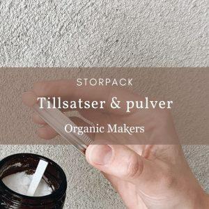 Naturliga tillsatser & pulver - storpack