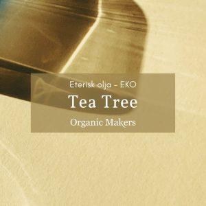 Ekologisk eterisk olja Tea Tree i storpack