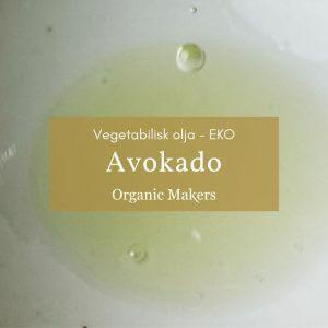 Ekologisk doftfri avokadoolja i storpack/bulk